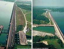 http://en.wikipedia.org/wiki/Pensacola_Dam