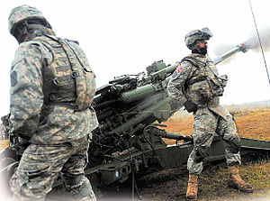 English: 17th Field Artillery Brigade - JBLM