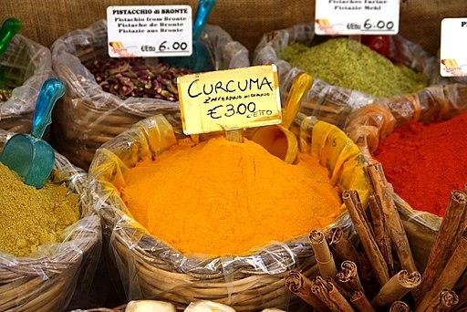 4617 - Curcuma al mercato di Ortigia, Siracusa - Foto Giovanni Dall'Orto, 20 marzo 2014