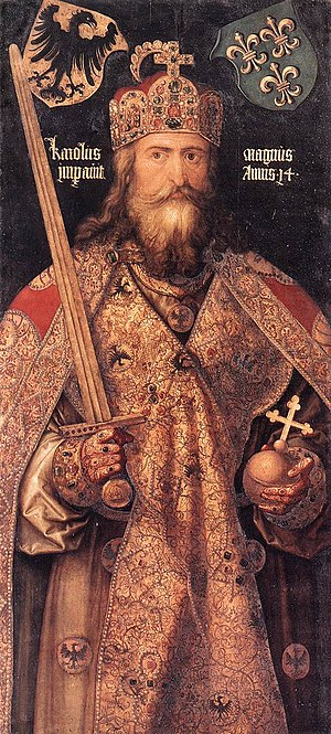 Albrecht Dürer - Emperor Charlemagne - WGA06998