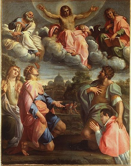 File:Annibale Carracci - Christ in Glory - WGA4411.jpg
