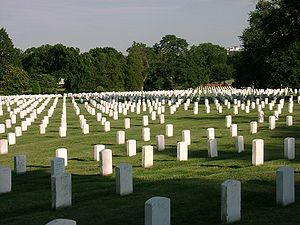 U.S. National Cemetery in Arlington, Virginia