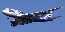 事故中墜毀的 波音747