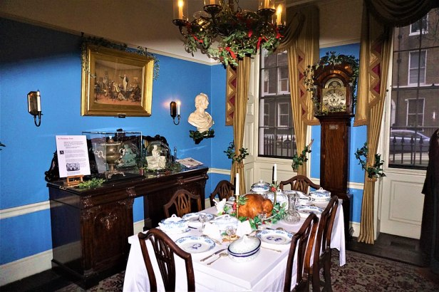 Charles Dickens Dining Room - Joy of Museums