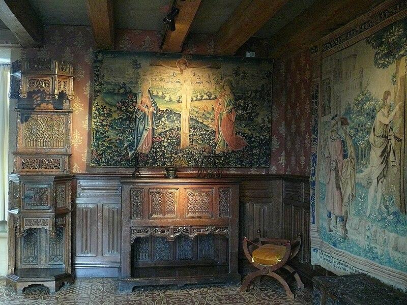 Château de Langeais - Chambre de parement