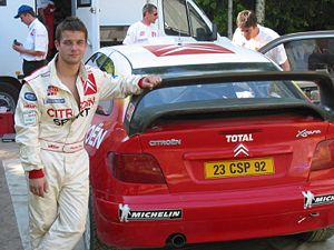 Citroën World Rally Team with their drivers Sé...