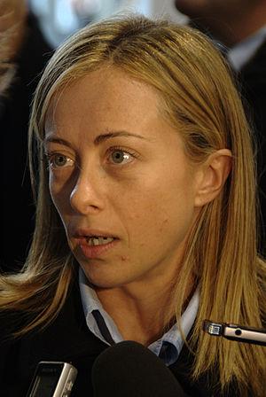 Italiano: Giorgia Meloni al MEI 2009.