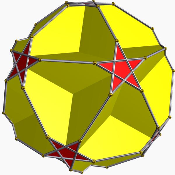 Truncated icosahedron Howling Pixel