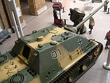 Jagdpanther, Imperial War Museum, London