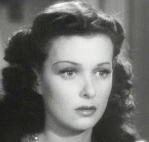 Cropped screenshot of Joan Bennett from the fi...