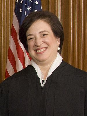 English: Justice Elena Kagan in the Justices' ...