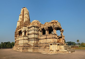 English: Dulhadeo (Dulhadev) Temple, Khajuraho...