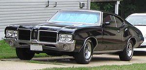 Oldsmobile Cutlass photographed in Waldorf, Ma...