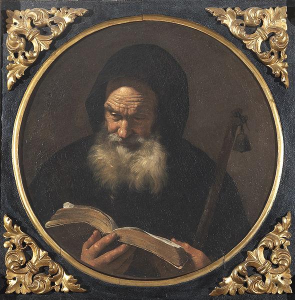 Mattia Preti, Sant'Antonio abate