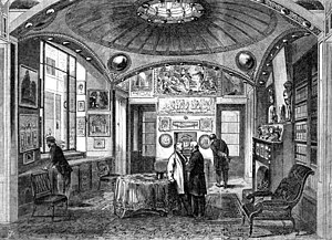 English: The breakfast parlour at Sir John Soa...