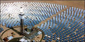 Solar Two experimental solar power plant