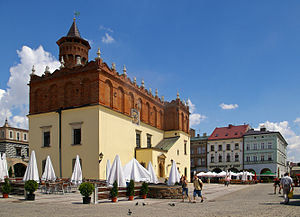 Market square in Tarnów