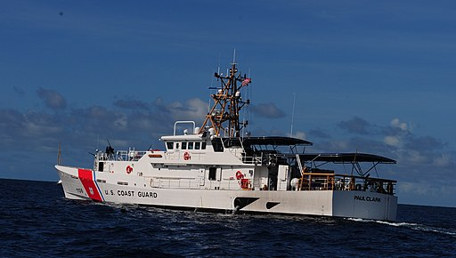 USCGC Paul Clark enters Miami -- .VHjMvMm zZk