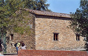 English: Casa Leonardo, the house where Leonar...