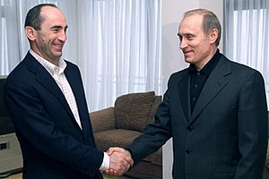 ALMATY. President Vladimir Putin with Armenian...