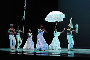 Alvin Ailey American Dance Theatre performs le...