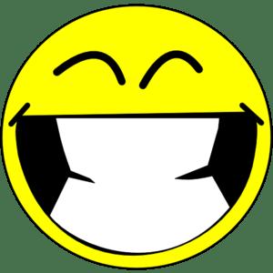 English: smiley