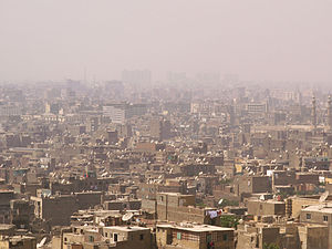 Picture of smog in Cairo.