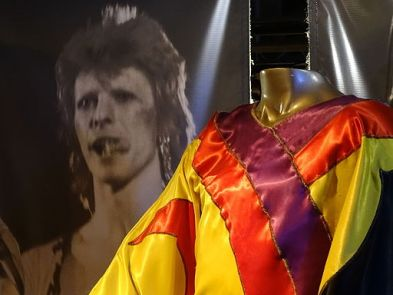David Bowie - Ziggy Stardust Tour Outfit 1972 - Rock & Roll Hall of Fame and Museum, Cleveland (by Adam Jones)