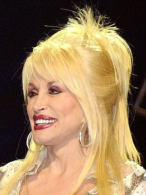 Dolly Parton at the Grand Ole Opry in Nashville.