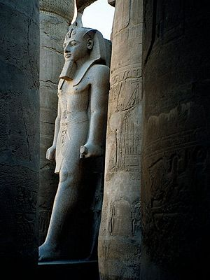 Larger than life structures remain at Karnak 3...