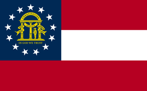 Flag of Georgia, taken from the xrmap flag col...