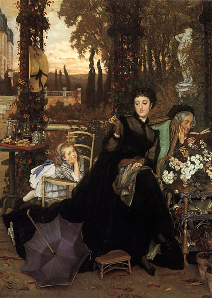 Image:James Tissot - A Widow.JPG