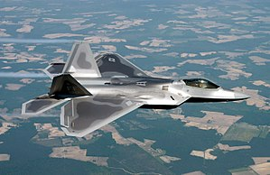 The F-22 Raptor fifth generation stealth air s...