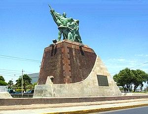 Founder's Monument in Nuevo Laredo