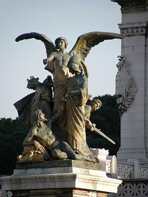 """Rome - Italy, Vittoriano Gruppo de """"Il Pe..."""
