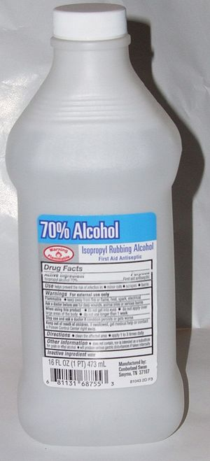 A few words on the properties of Isopropyl alcohol