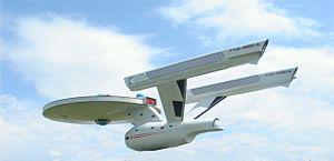 Spaceship airborn