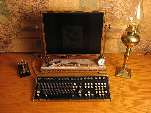 Steampunk-Computer