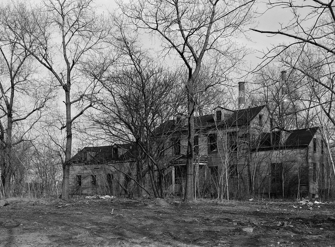 File Welfare Island Farmhouse New York New York County
