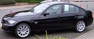 BMW Series3 black l