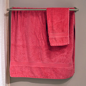 Bathroom towels.