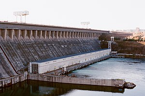 English: Bratsk hydropower station. Hrvatski: ...