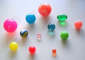 Colorful Super ball, home