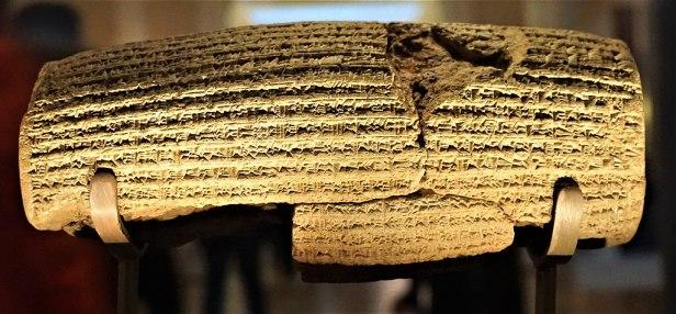 Cyrus Cylinder - British Museum - Joy of Museums 2