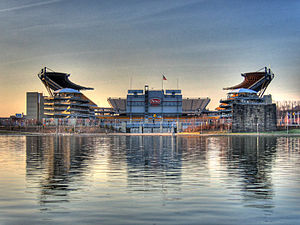 Heinz Field, Pittsburgh, Pennsylvania. Home of...
