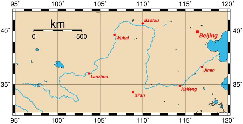 Le plateau des Ordos - Wikicommons