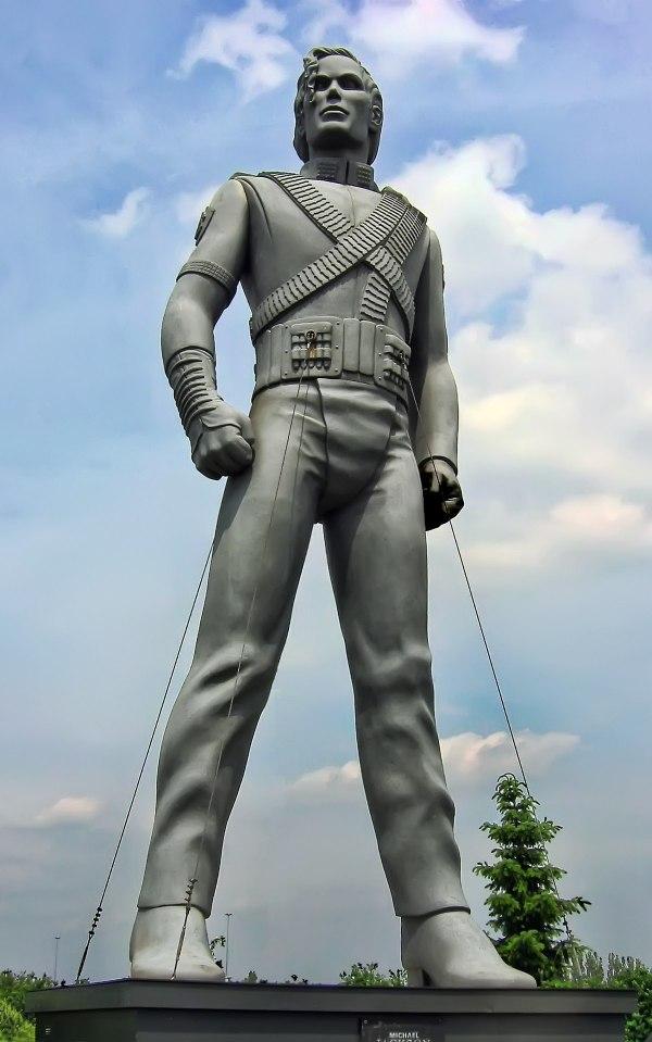 Michael Jackson HIStory statue - Wikipedia