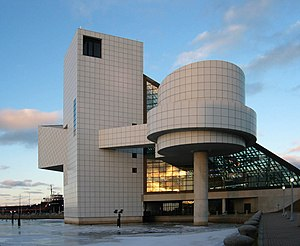 English: The Rock and Roll Hall of Fame, Cleve...