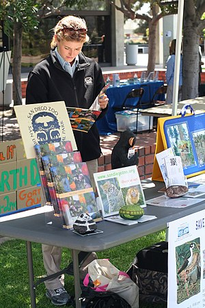 Earth Day 2007 at San Diego City College - exh...