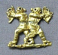 Scytyjscy łucznicy, prawdopodobnie z kurhanu Kul Oba na Krymie, 350-400 p.n.e.